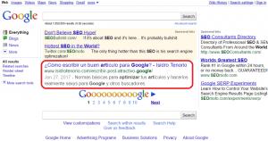 google snippet resultados búsqueda google